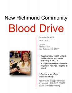 Chad Thiele's Blood Drive Poster Final Version