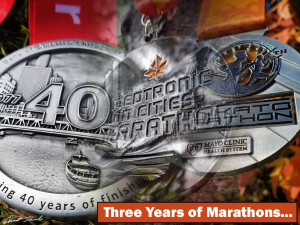 3 Marathons Collage