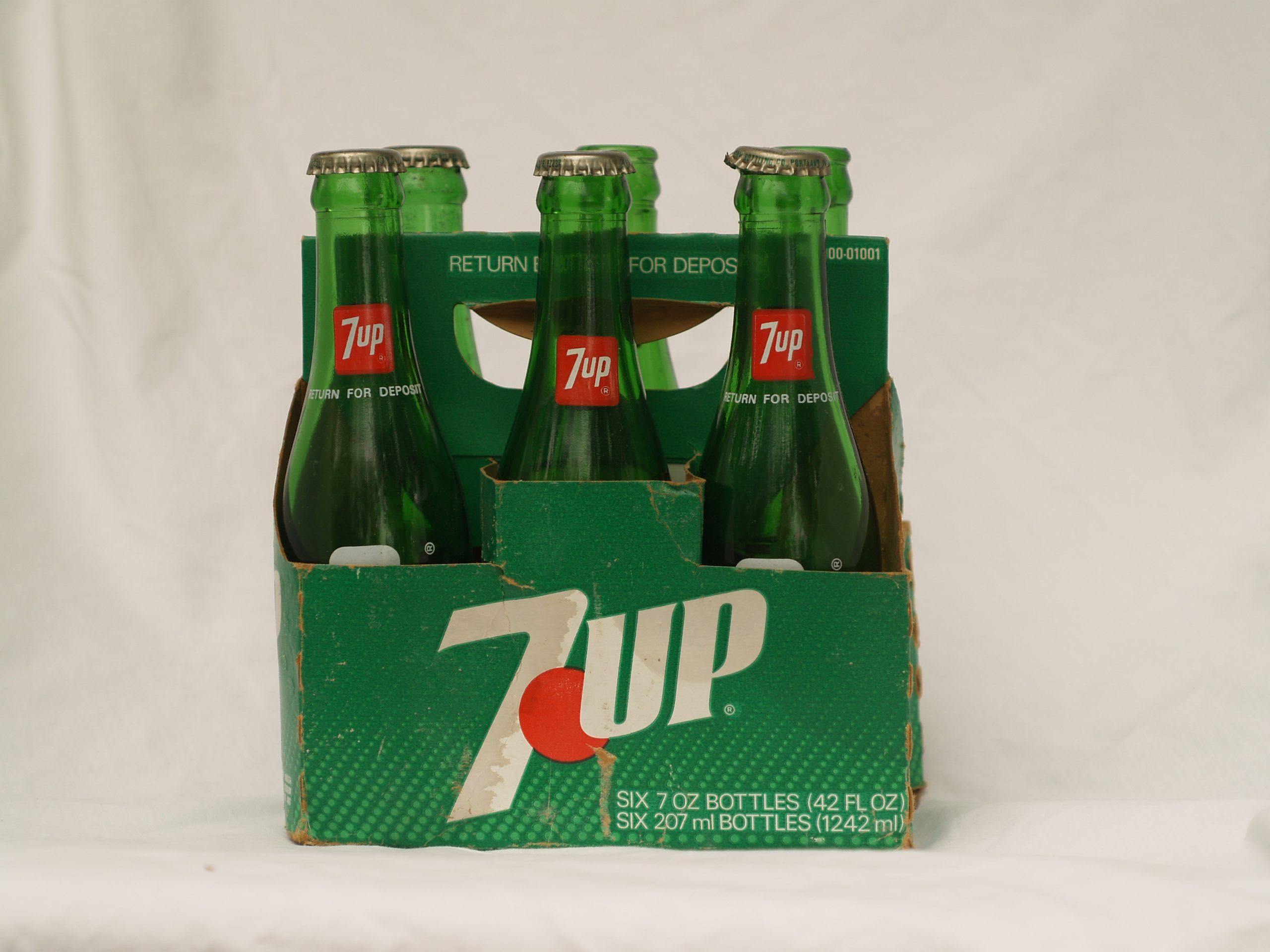 7 UP Bottles