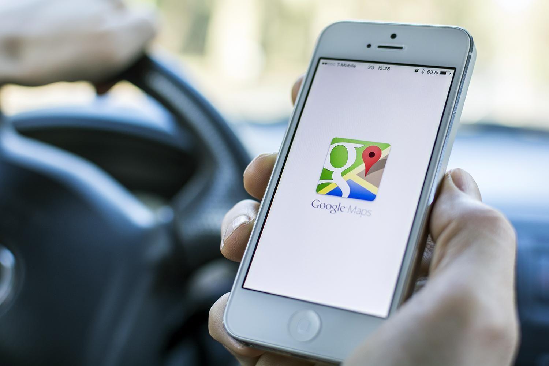 Google Maps Smartphone App